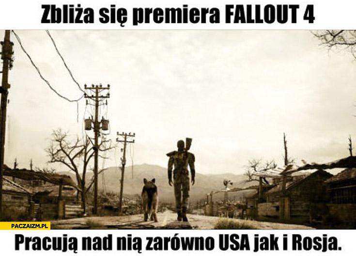 Fallout 4 premiera USA Rosja