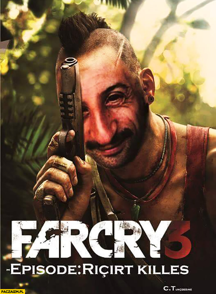 Farcry 3 episode Ricit Killes łotrzyk przeróbka