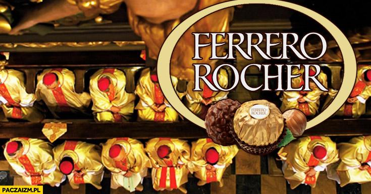 Ferrero Rocher księża biskupi kardynałowie