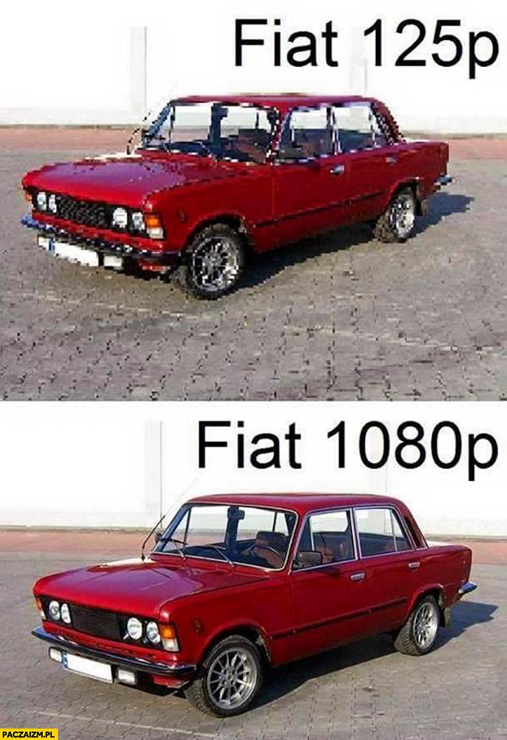 Fiat 125p Fiat 1080p
