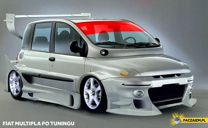 Fiat Multipla po tuningu