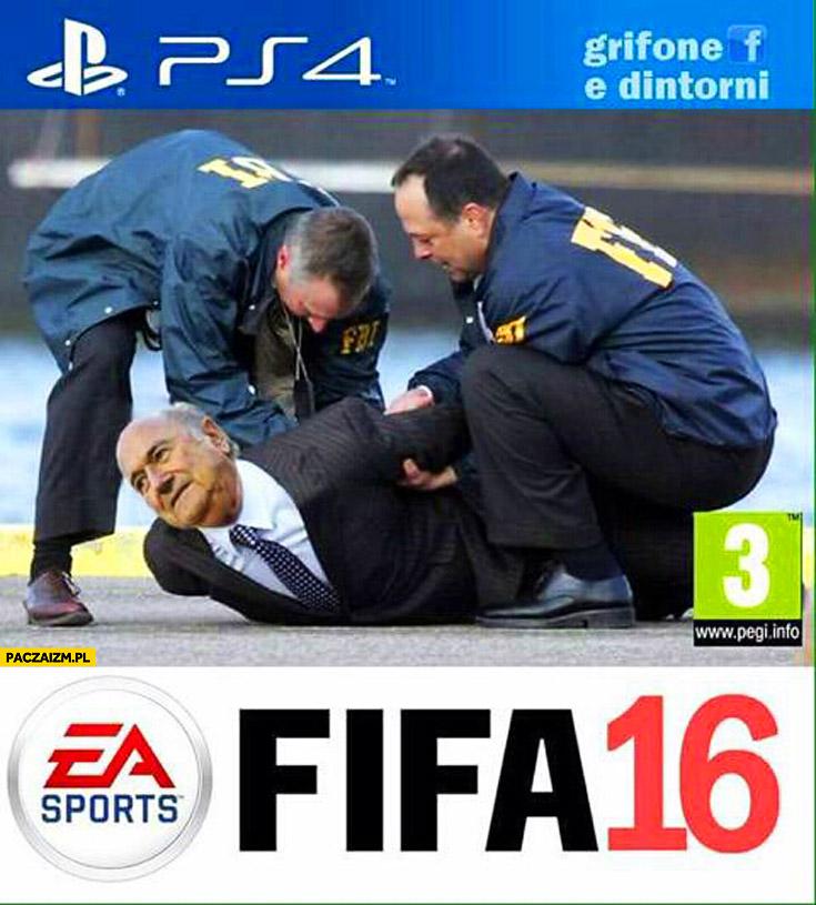 FIFA 16 FBI aresztuje