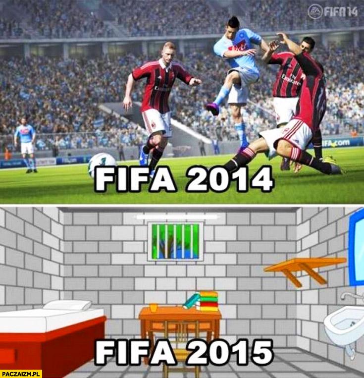 FIFA 2014 FIFA 2015 więzienie