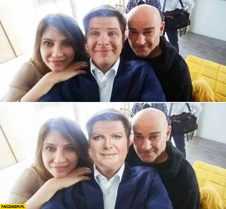 Filip Chajzer wygląda jak Beata Szydło
