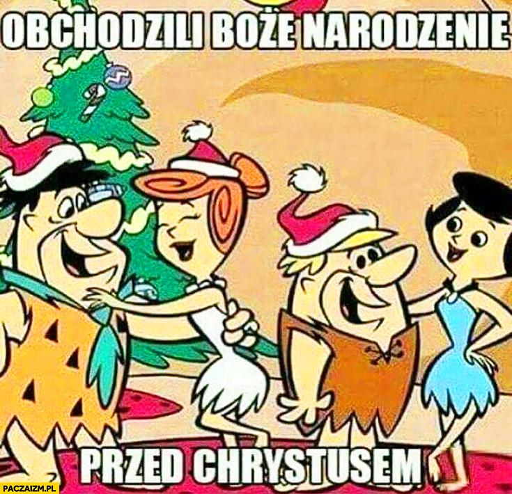 Flintstonowie obchodzili Boże Narodzenie przed Chrystusem The Flintstones