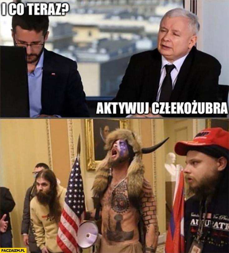 Fogiel i co teraz Kaczyński aktywuj człekożubra zwolennicy Trumpa w kapitolu