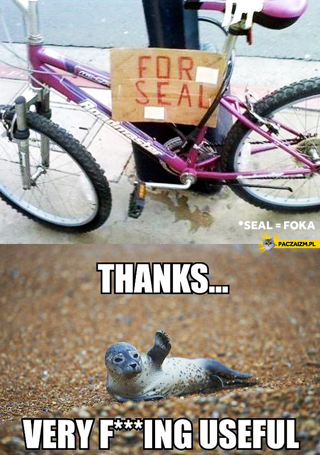 For seal