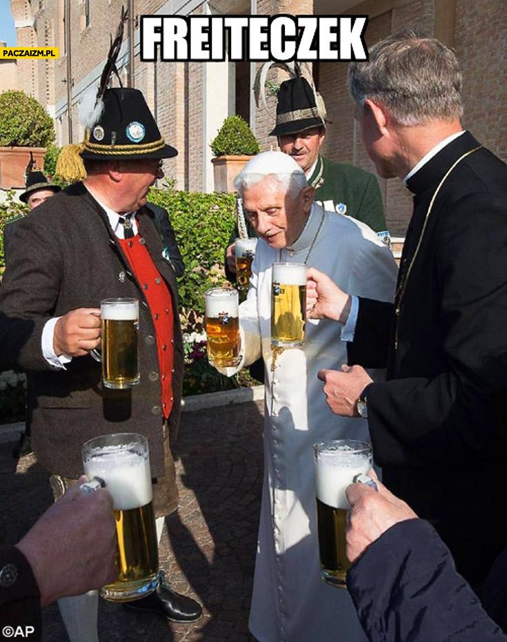 Freiteczek papież Benedykt piwo