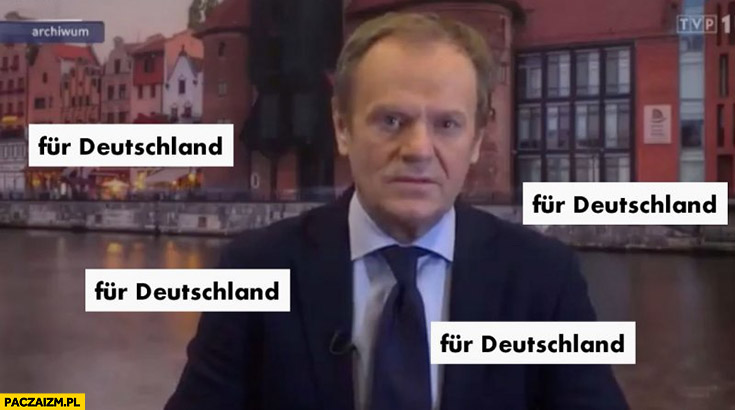 Fur Deutschland Donald Tusk wiadomości TVP