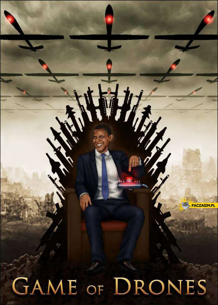 Game of drones Barack Obama