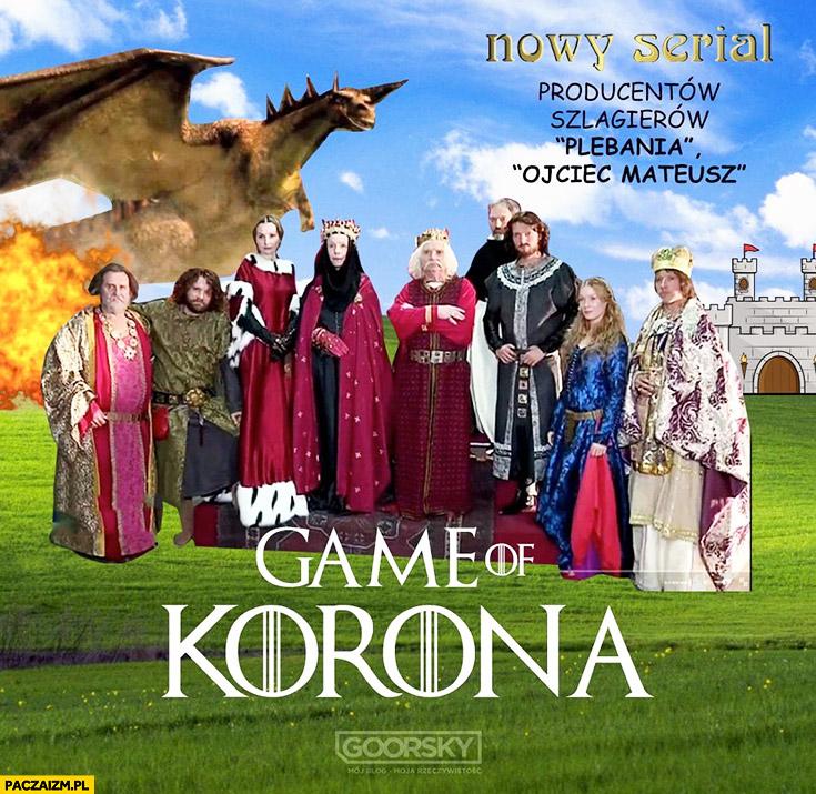 Game of Korona Korona Królów przeróbka Goorsky