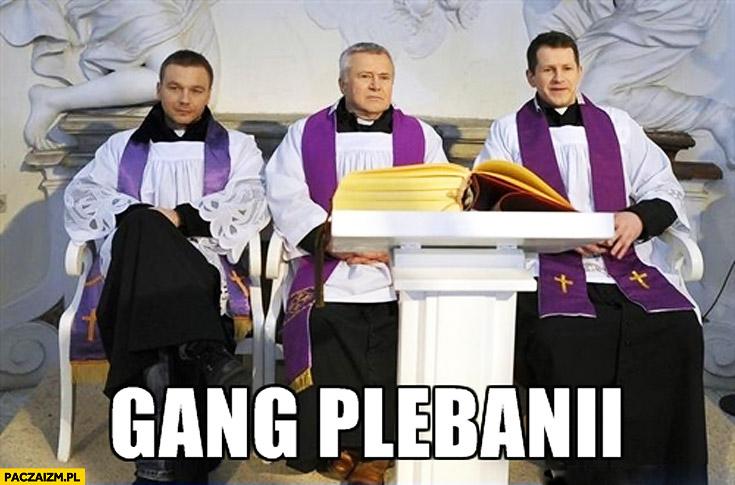 Gang plebanii Albanii
