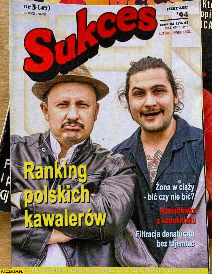 Mazeta magazyn sukces bracia figo fagot ranking polskich kawalerów, zona w ciąży: bić czy nie bić?