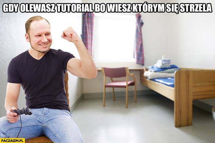 Gdy olewasz tutorial bo wiesz którym się strzela Breivik