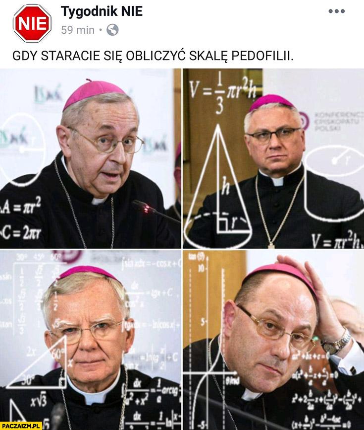 Gdy staracie się obliczyć skalę pedofilii biskupi tygodnik nie