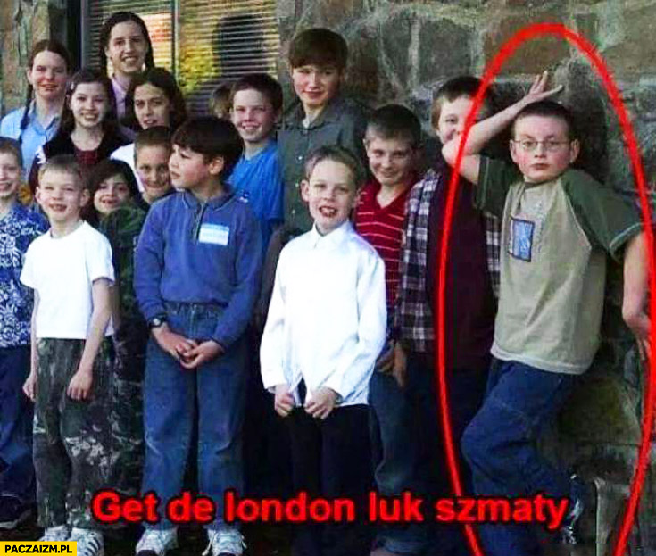 Get de London luk szmaty