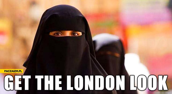 Get the London look muzułmanka