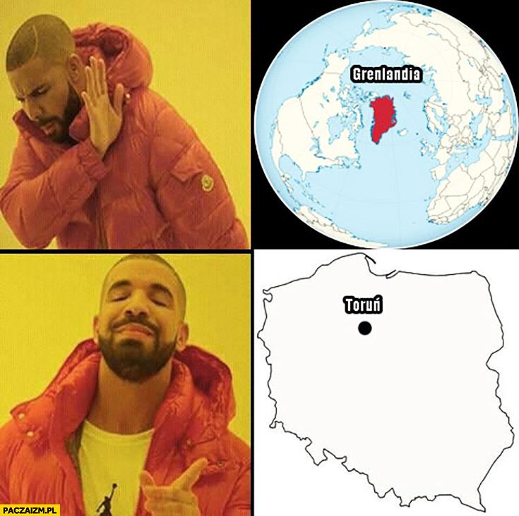 Gonciarz na Grenlandii nie chce, Daniel Magical w Toruniu tak Drake