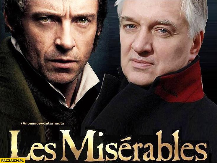 Gowin Nędznicy Les Miserables anonimowy internauta