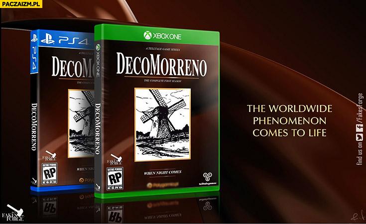 Gra komputerowa DecoMorreno PS4 XBox one