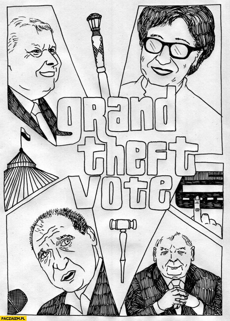 Grand Theft Vote reasumpcja głosowania lex tvn GTA Kukiz