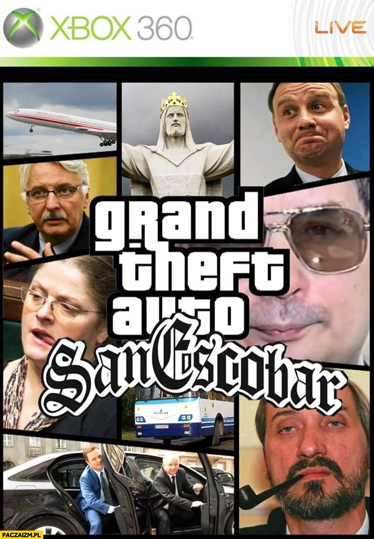 GTA San Escobar PiS Prawo i Sprawiedliwość Grand Theft Auto