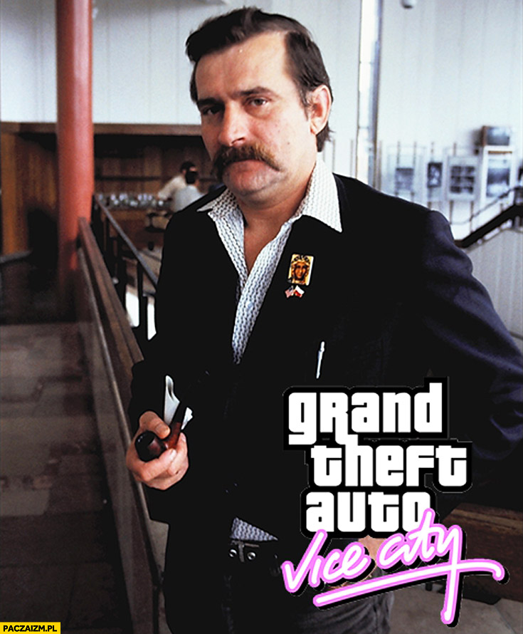 GTA Vice City Lech Wałęsa