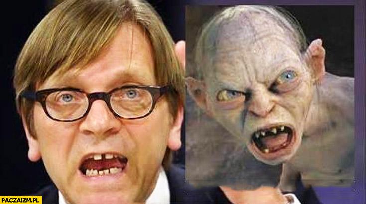 Guy Verhofstadt Gollum