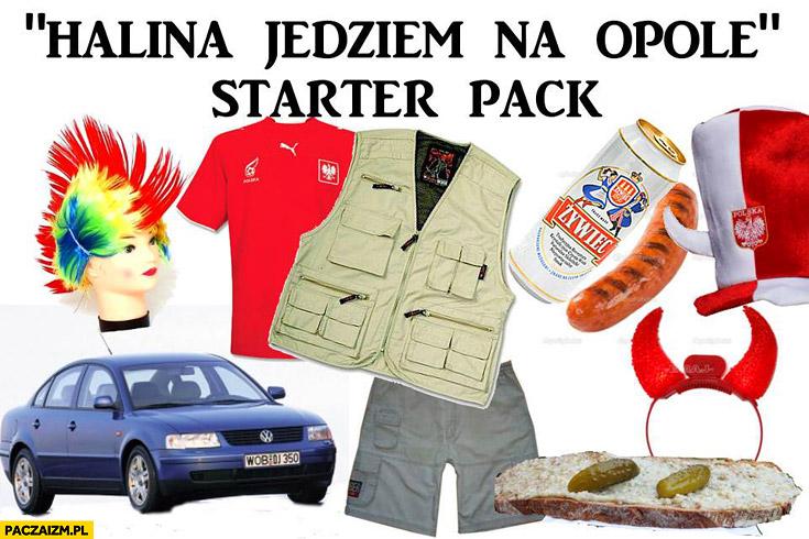 Halina jedziem na Opole starter pack zestaw startowy