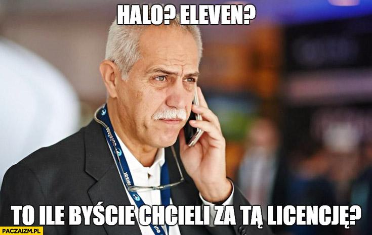 Halo Eleven? To ile byście chcieli za tą licencję? Solorz-Żak Kubica