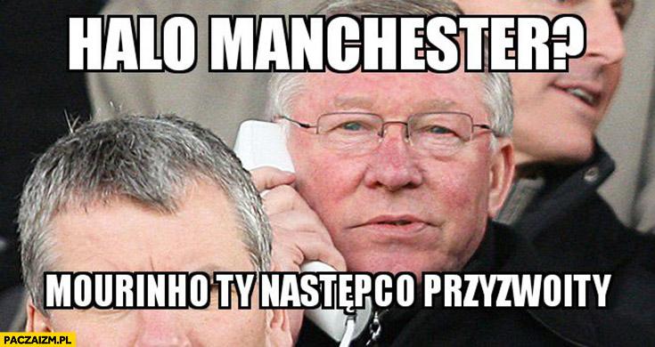 Halo Manchester? Mourinho Ty następco przyzwoity