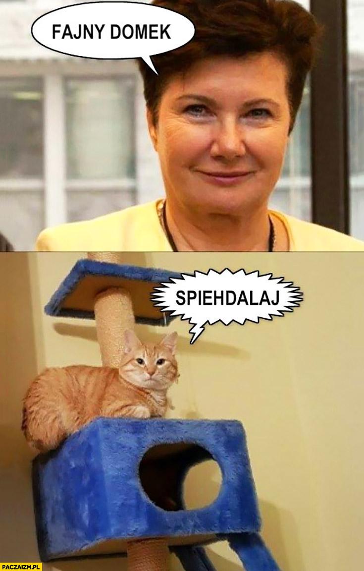 Hanna Gronkiewicz-Waltz do kota fajny domek spiehdalaj spierdzielaj