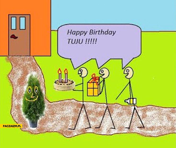 Happy birthday tuju