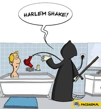 Harlem Shake śmierć