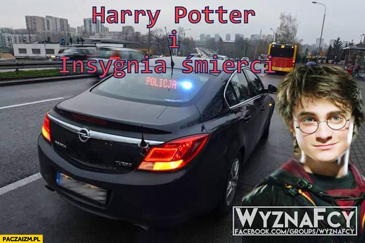 Harry Potter i Insignia śmierci policyjny Opel Insignia nieoznakowany radiowóz