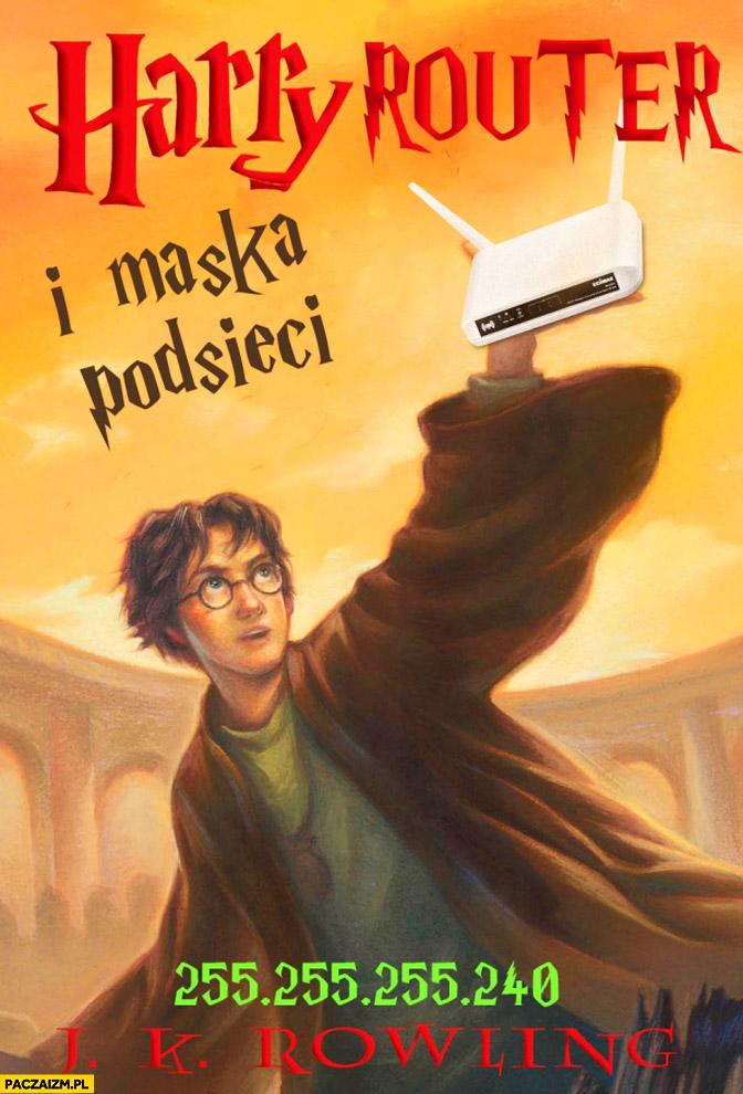 Harry Router i maska podsieci