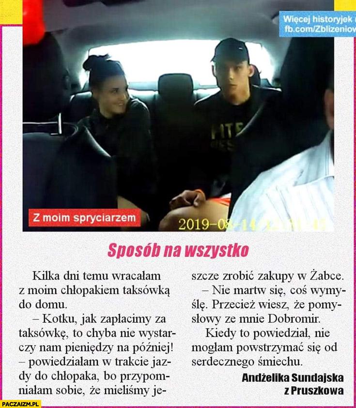 Historia z gazety napad na taksówkarza z moim spryciarzem Kasper