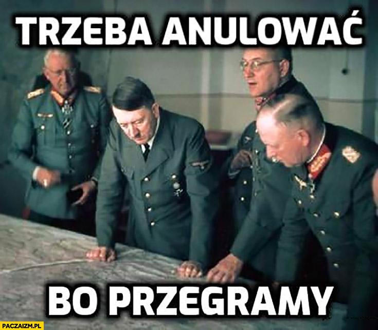 Hitler trzeba anulować, bo przegramy PiS głosowanie w sejmie