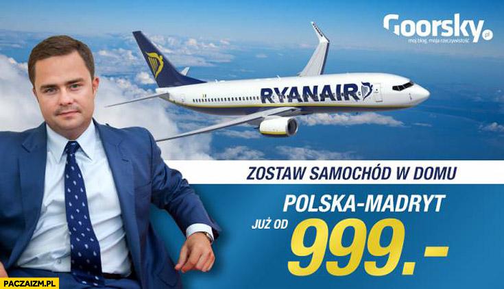 Hofman reklama Ryanair