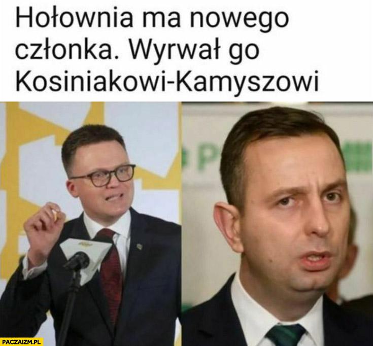 Hołownia ma nowego członka wyrwał go Kosiniakowi-Kamyszowi
