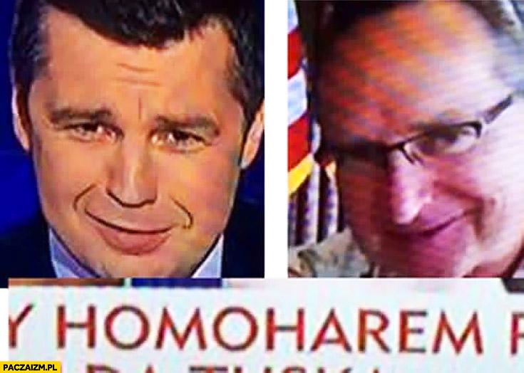 Homoharem Michał Rachoń Wojciech Cejrowski TVP