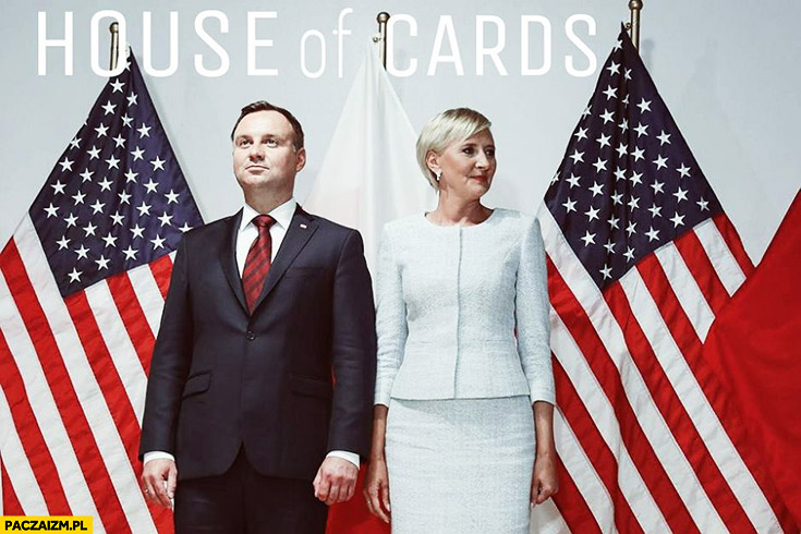 House of Cards przeróbka Andrzej Duda Agata Duda