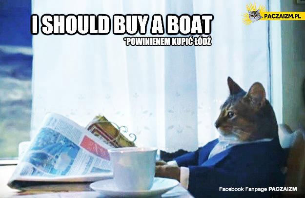 Powinienem kupić łódź