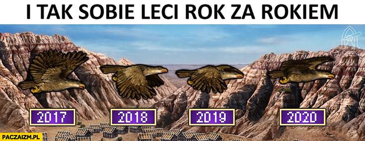 I tak sobie leci rok za rokiem Heroes 3 2017, 2018, 2019, 2020 ptak rok
