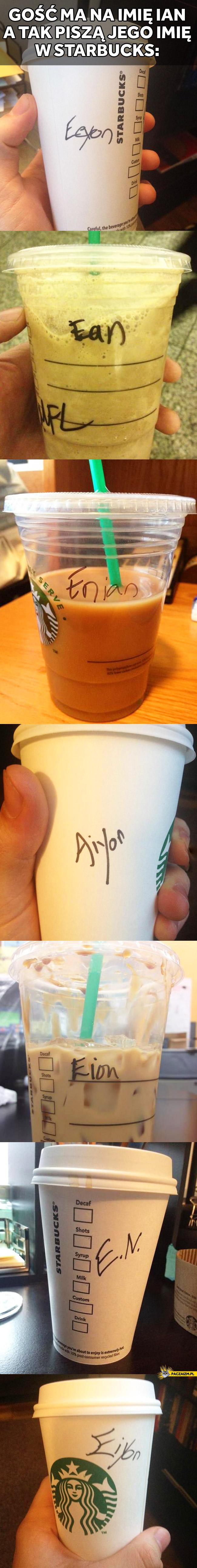 Ian w Starbucks