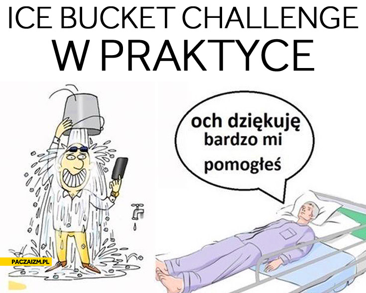 Ice Bucket Challenge w praktyce