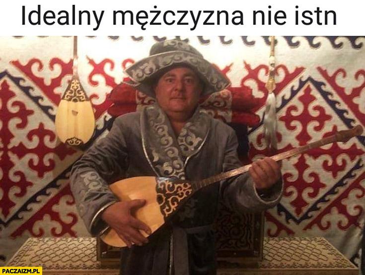 Idealny mężczyzna nie istnieje Makłowicz z gitarą