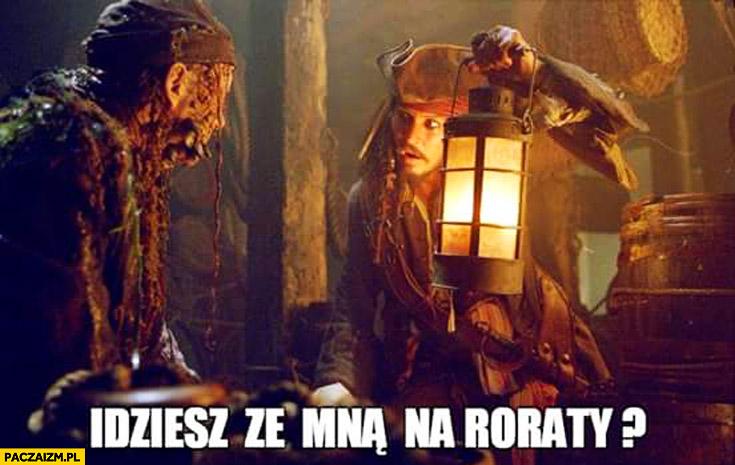 Idziesz ze mną na roraty? Jack Sparrow Johnny Depp