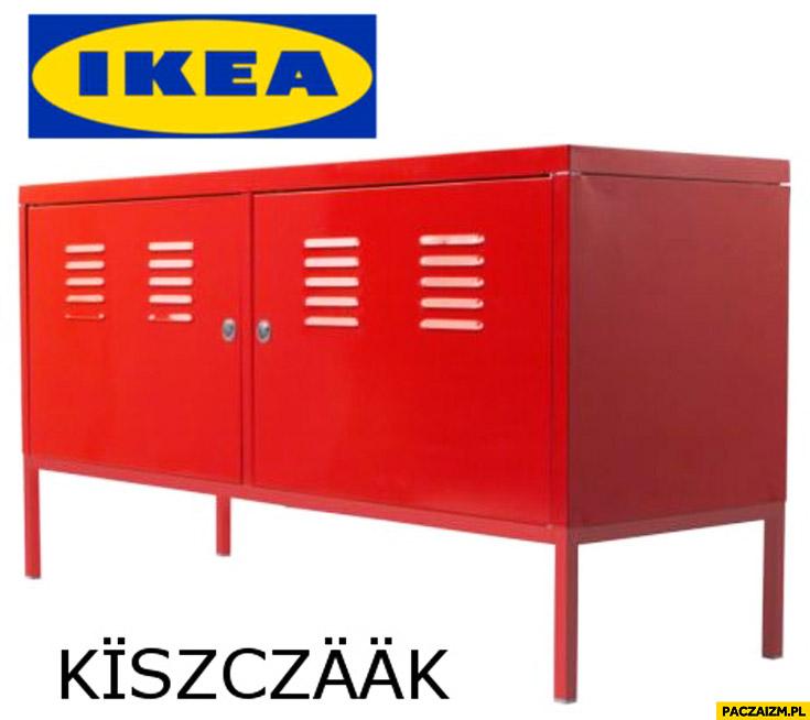 IKEA szafa regał Kiszczaak