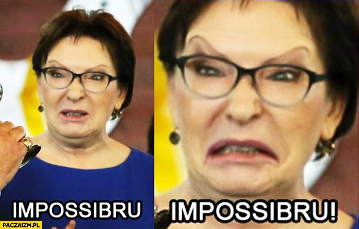 Impossibru Ewa Kopacz